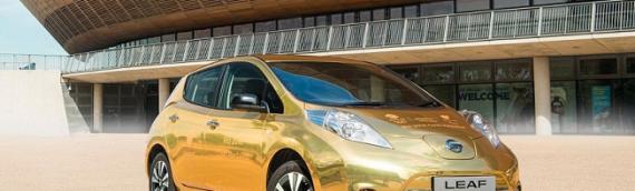 Nissan Leaf электромобиль для чемпионов