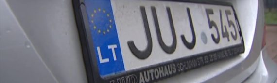 В Украине за неделю было растаможено 74 авто на еврономерах