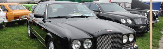 60-летний Bentley был замечен в Украине